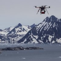 Quadrocopter with RedEdge(TM), Tasiilaq, Greenland (photo-copyright: Normand-Treier)